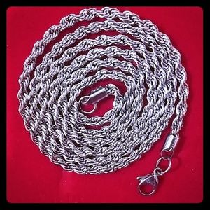 Stainless Steel chain.